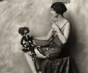 1920s, b&w, and portrait image