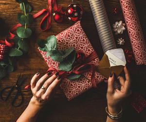 christmas, tumblr, and gifts image