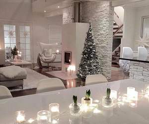 christmas, house, and interior image