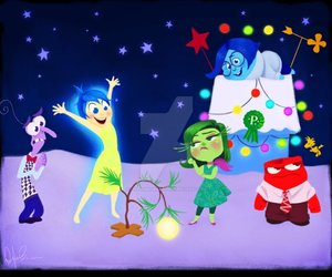 inside out and a charlie brown christmas image