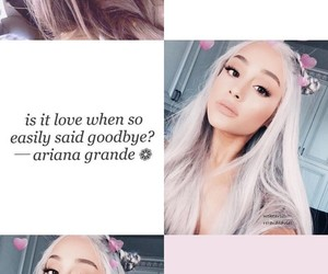 background, quotes, and ariana grande image