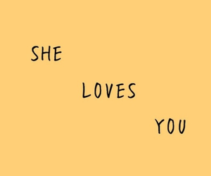 yellow and love image