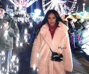 coat, fete foraine, and luxury image