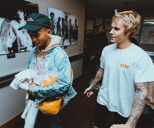 justin bieber and jaden smith image