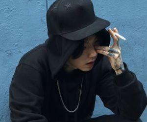 kim, tattoo, and ulzzang image