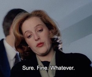 dana scully, quote, and tv image