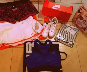fitness, shop, and tenis image