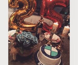 25, birthday, and cake image