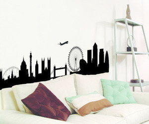 decor, house, and london image