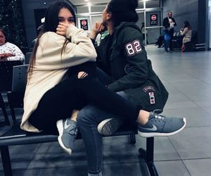 amigas, viajes, and friends image
