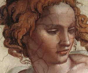 art, michelangelo, and sistine chapel image