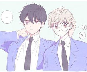 touya x yukito, Boys Love, and yaoi image