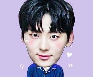 asian boy, icon, and meme image