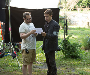 behind the scenes, divergent, and boy image