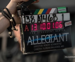 behind the scenes, production, and allegiant image