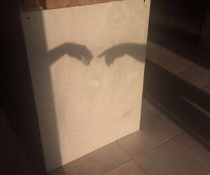 aesthetic, beige, and shadow image