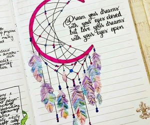 art, dreamcatcher, and quote image