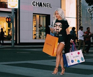 saweetie, chanel, and shopping image