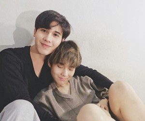 cute couple, thailand, and gay couple image