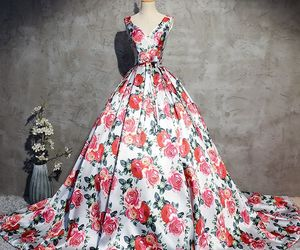 printing, stunning, and formal dresses image