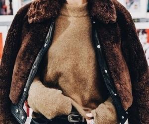 brown, fashion, and christmas image