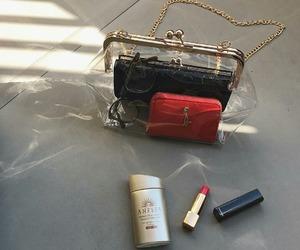 bag, make up, and photography image