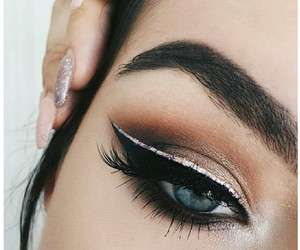 aesthetic, glam look, and make-up image