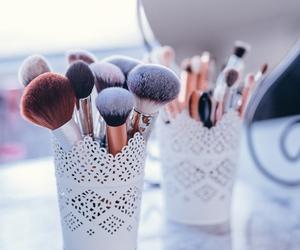 brush and makeup image