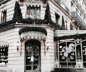 christmas, city, and winter image