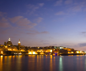 baroque, harbour, and night image