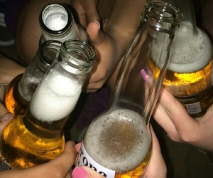 alcohol, beer, and grunge image