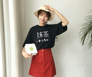 asian, clothes, and korean image