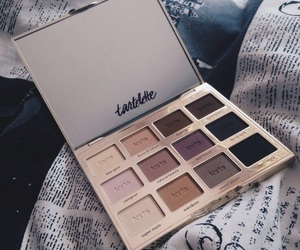 makeup, eyeshadow, and tarte image