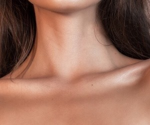 collar bones, fashion, and girl image
