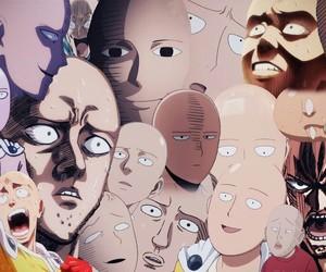 one punch man and saitama image