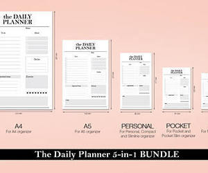 etsy, planner, and personal planner image
