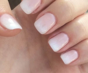 chic, french, and nail art image