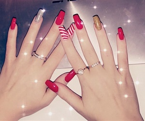 candy cane, christmas, and glitter image