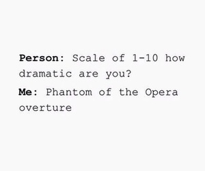 funny, opera, and phantom image