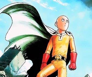 manga, opm, and saitama image