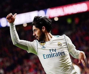 real madrid, isco, and love image