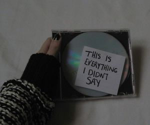 grunge, music, and cd image