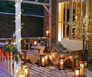 bae, christmas lights, and Romantik image