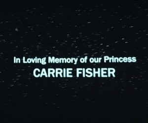 carrie fisher, movie, and star wars image