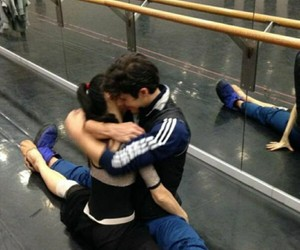 ballet, boy, and couple image