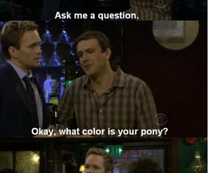 funny, how i met your mother, and lies image