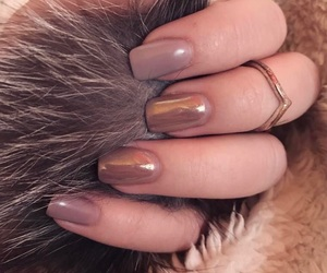aesthetic, girl, and nails image
