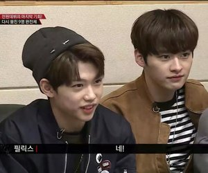 kpop, felix, and JYP image