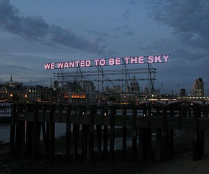 sky, quotes, and light image
