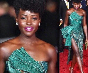 actress, green, and lupita image